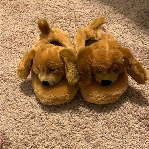 Build A Bear puppy slippers